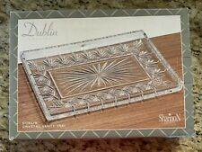 Vanity Tray Dublin 11 5/8 By 8 Crystal Rectangular Shannon By Godinger