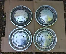 """4 (Four) 1972-76 Dodge Charger/Dart/Challenger 14"""" Hub Caps/Wheel Covers"""