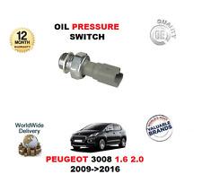 pour Peugeot 3008 1.6 2.0 2009>2016 interrupteur pression huile moteur