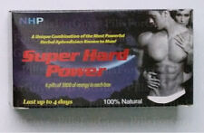 NHP Super Hard Power - 36 Pills - 6 Boxes - New Male Enhancement 3800mg Per Pill