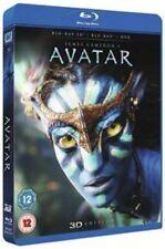 Avatar 3d 2d Blu-ray DVD UK BLURAY