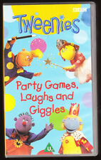 TWEENIES - PARTY GAMES, LAUGHS AND GIGGLES - VHS PAL (UK) VIDEO