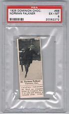 1925 Dominion Choc. Sports Card #66 Norman Falkner (Skating) Graded PSA 6