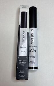 Smashbox WHITE Photo Finish Lid Primer 0.08 Fl Oz 2.5 ml