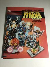 The New Teen Titans Games Graphic Novel Nm Near Mint Hardcover DC Comics