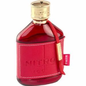 """Dumont Paris """" Nitro Red Pour Homme """" Eau de Parfum Vapo ML 100 BNIB"""