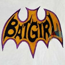 Batman Batgirl Logo Serie of Yvonne Craig Embroidered Patch Adam West 1966 Joker