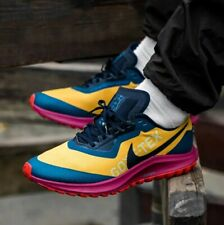 Nike Zoom Pegasus 36 Trail GTX Gore-Tex Gold Red CT9137-700 Men's Sz 11