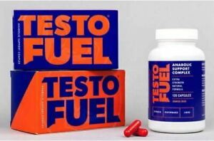 Testo Fuel The Uk's Best Selling Testo Booster 120 Capsules