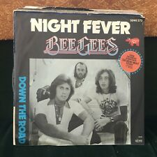 "BEE GEES NIGHT FEVER CLASSIC VINTAGE 1978 DISCO 7"" VINYL"