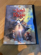 The Lord of the Rings ~ Dvd Movie ~ Rare 2001 Soft Case Release ~ 1978 Animated