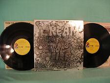 Cream, Wheels Of Fire, ATCO SD 2-700, 1972, 2 LPs Gatefold Psych Rock/Blues Rock