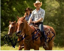 BRITT ROBERTSON & SCOTT EASTWOOD signed THE LONGEST RIDE SOPHIA & LUKE photo