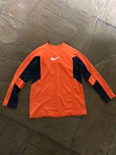 Nike Older Boy's Kids Long Sleeved Top Dri-Fit  Age 14-16 Years VGC