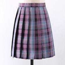 Girls Jk Plaid Uniform Skirt Cotton Check Japanese Juniors Teens Skirts Shorts