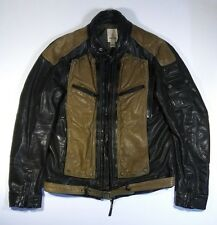 Diesel mens leather jacket size XL