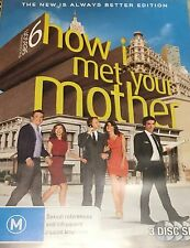 How I Met Your Mother the Complete Sixth Season 3-Disc Set Region 4 DVD VGC