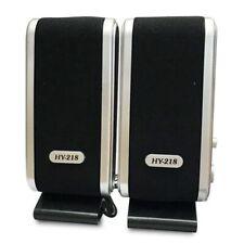 USB Speakers laptop portable multimedia sound music PC desktop TV speakers O8Y1