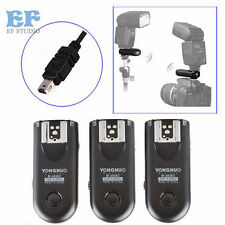 3pcs Yongnuo RF-603 II Wireless Remote Flash Trigger N3 for Nikon D7000 D5100