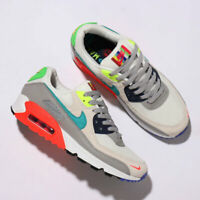 Nike Air Max 90 EOI Mens Grey White Black Blue Shoe Trainer Sneaker