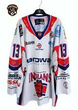 Hannover Indians DEL Ice Hockey Shirt 2010-2011 (2XL)#13 Jelitto Jersey Trikot