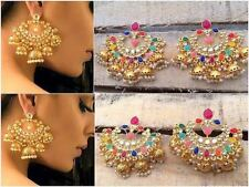 Indian Women Wedding Gold Platted Earring Set Online Bridal Jewelry Free Ship