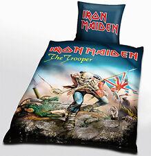 IRON MAIDEN TROOPER BETTWÄSCHE 135 x 200 cm - Metal Rock traum Festival Fear Run