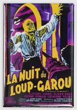 The Curse of the Werewolf French Version Movie Poster FRIDGE MAGNET Monster Horr