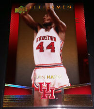Elvin Hayes 2014-15 Upper Deck Lettermen GOLD PARALLEL Insert Card (#'d 5/5)