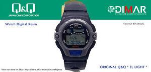 Vintage Uhren Q&Q Der Light. 9905, Wr. 5m. Lap Speicher 10