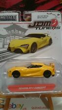 Jada Toys JDM Tuners Toyota FT-1 Concept jaune (N6)