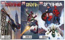 Superior Spider-Man #31 - 3 different Variant Editions  avg. NM 9.4  Marvel 2014