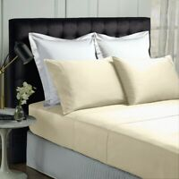 Park Avenue 500 Thread count Cotton Bamboo Sheet sets in Vanilla
