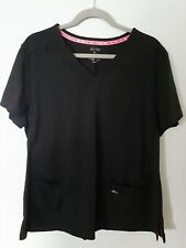 Koi lite scrub top Xl black Slim Fit