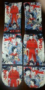 Custom Akira Anime dry fit socks X XI I II III IV V TshirtConnex
