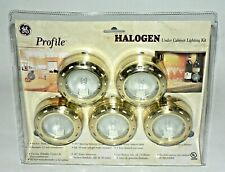 GE Profile Halogen Under Cabinet 5 Lights Lighting Kit New
