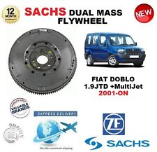 FOR FIAT DOBLO 1.9 JTD + MultiJet 2001-ON SACHS DMF DUAL MASS FLYWHEEL & BOLTS