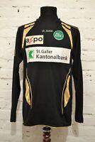 FC ST. GALLEN JAKO GOALKEEPER FOOTBALL SOCCER SHIRT JERSEY TRIKOT SWISSE MENS M