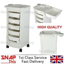 Salon Hairdresser Storage Trolley Beauty Barber Hair Drawers Spa Cart Colouring