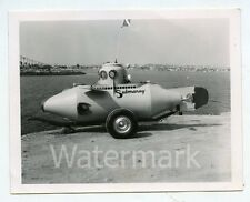 Viintage Photo Submaray Submarine mini midget minature