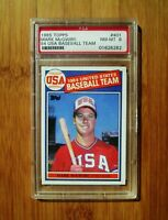 1985 Topps #401 MARK MCGWIRE Rookie PSA 8 NM-MT