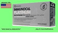 """IMMUNOCAL PLATINUM 30 PK ,source of Glutathione- """"ORIGINAL FOR USA"""" EXP 02/2019"""