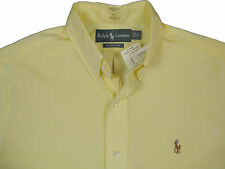 NEW Polo Ralph Lauren Classic Fit Shirt!  *Button Down*   *Yellow*