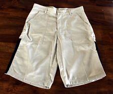 Emilio Valentino Shorts Size 33 Men's New Deep Pockets Gray