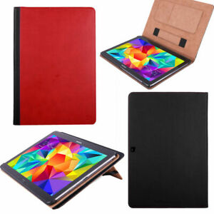 For Samsung Galaxy Tab 4 10.1 Tablet SM-T530NU PU Leather Case Folio Stand Cover