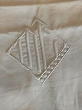 More details for vintage french pure linen sheet
