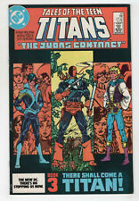 Tales Of The Teen Titans 44 DC 1984 NM- 1st Nightwing Deathstroke