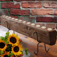 TUSCAN RUSTIC 12 Flame SUGAR MOLD Candle Holder w/CANDLES & STAND