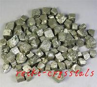Natural Rough Pyrite Mineral Crystal Chalcopyrite Block stone Decoration 100g