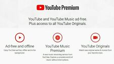 Youtube  RED premium Music 6 month to 24 Months UPGRADE OWN